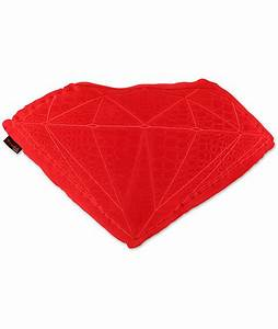 diamond supply co brilliant red croc pillow With diamond supply co pillow