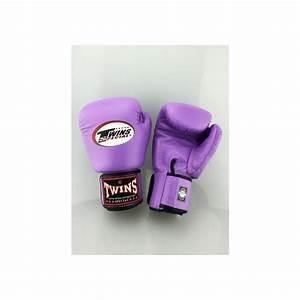 Gants de boxe femme Twins lavande EWD Sport