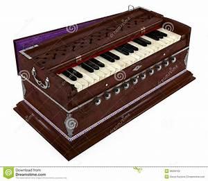 Old Indian Harmonium Isolated Stock Photos - Image: 36259703