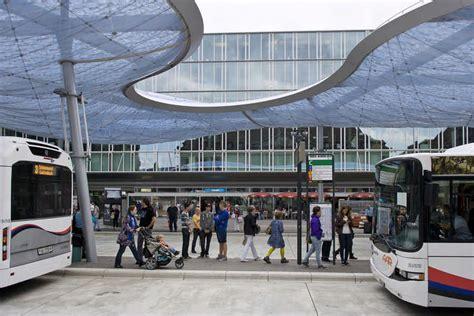 aarau bus station canopy switzerland  architect