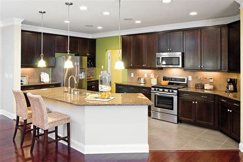 american kitchens designs beautiful modern lighting for chic american kitchen 7977 1235