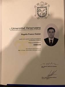 UV: Franco solicitó título en septiembre, cédula profesional en trámite e consulta