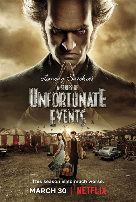 a series of unfortunate events to end with season 3