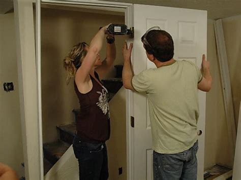 installing a prehung door how to install a pre hung door how tos diy