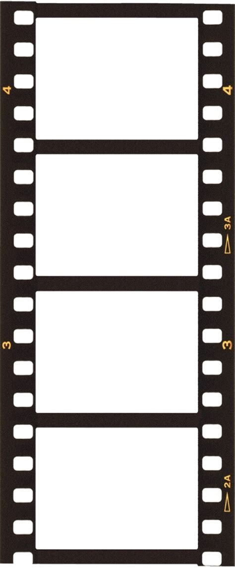 Templates Film by Blank Film Strip Template Free Clipart Best