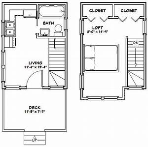 12x16 tiny house 12x16h6 367 sq ft excellent for Tiny house plans 12x16 192 sq ft