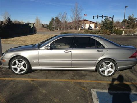 Sell Used 2003 Mercedes S500 4matic Excellent Condition