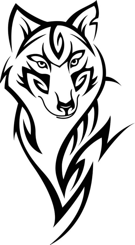 Wolf Head Tattoo Design Vector Free Vector cdr Download - 3axis.co