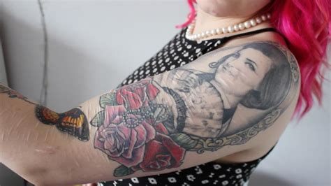 tattoos  ease  emotional pain   harm scars