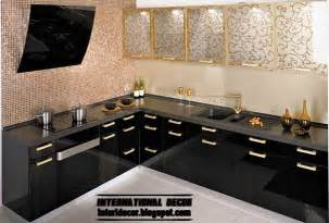kitchen ideas for 2014 modern black kitchen designs ideas furniture cabinets 2014 international decoration