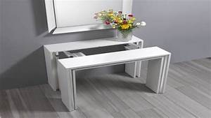 Space Saving Dining Table Compact Expandable Dining Table