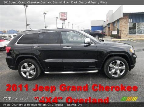 charcoal jeep grand cherokee dark charcoal pearl 2011 jeep grand cherokee overland