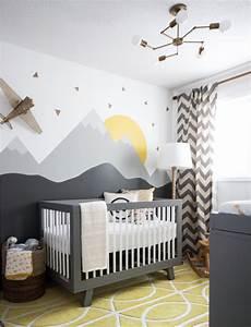 30 inspirerende barnerom interior inspirasjon for Modern unisex nursery ideas