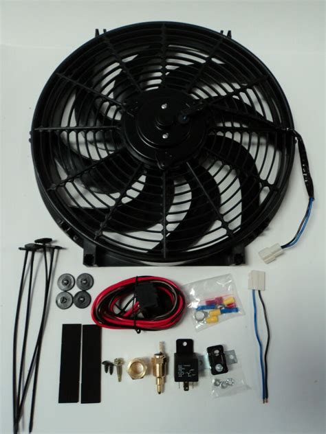 Electric Fan Cfm Wiring Install Kit Complete