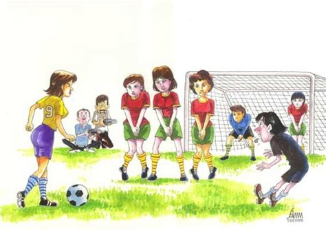 Women Football By Aungminmin
