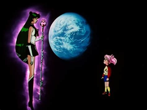 Silver Moon Crystal Power Kiss!, Setsuna And Chibiusa