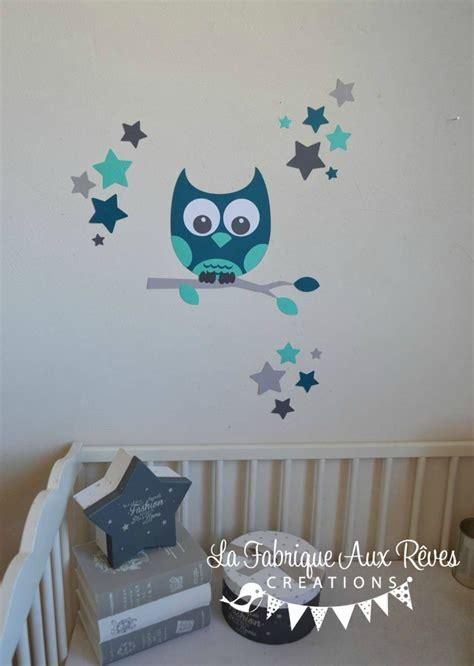 chambre hibou davaus chambre bebe hibou bleu avec des idées