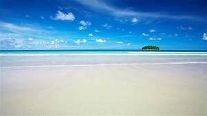 HD Sky Blue Beach Wallpapers
