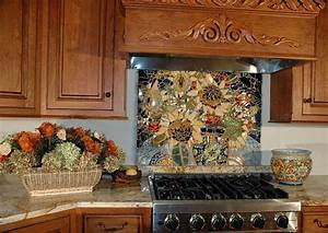 16 wonderful mosaic kitchen backsplashes for Kitchen mosaic backsplash designs