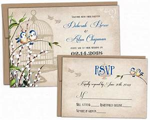bird wedding invitation With studio 7 wedding invitations
