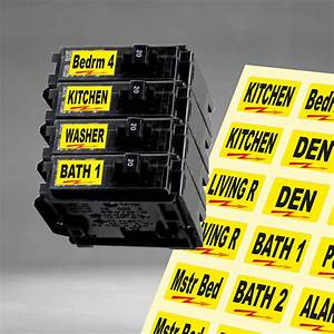 Buy Universal Circuit Breaker Decals For Breaker Box Switches  U0026quot Applies To Switch U0026quot  Motorcycle In