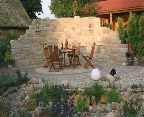 Dekorative Mauern Im Garten Wohnideen Interior Design