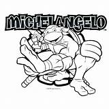 Ninja Turtles Coloring Pages Michelangelo Mutant Teenage Drawing Turtle Splinter Master Colouring Coloriage Tmnt Donatello Printable Sheets Raphael Birthday Boys sketch template