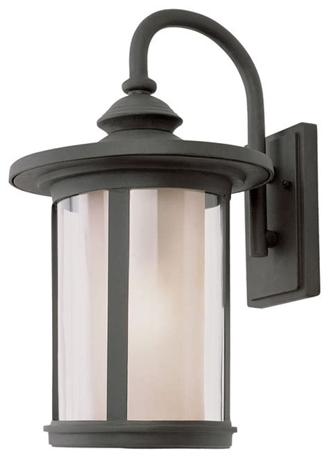 all modern outdoor lighting trans globe 1 light coach lantern with black finish