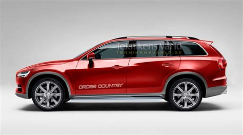 2017 Volvo V90 Cross Country Red 200 Interior And