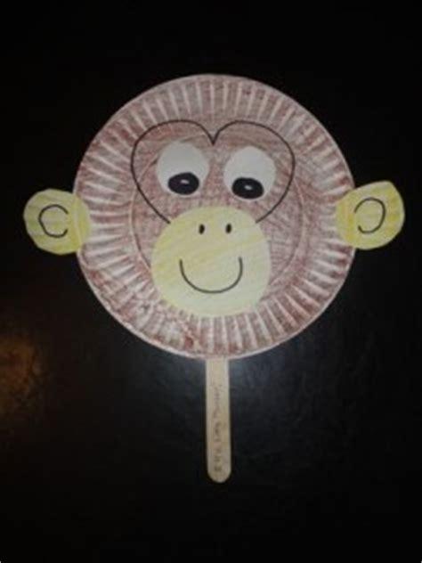 monkey craft idea  kids crafts  worksheets  preschooltoddler  kindergarten