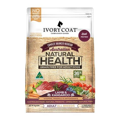 When it pertains to choosing a dog food, you may find all the alternatives frustrating, we comprehend the essential role dog food plays. Ivory Coat Grain Free Dry Adult Dog Food Lamb & Kangaroo ...