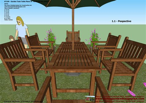 metal patio furniture plans  woodworking