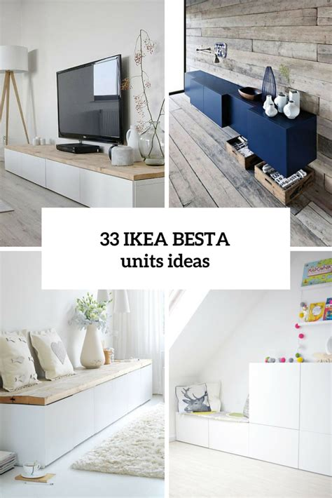Besta Combination Ideas by 33 Ways To Use Ikea Besta Units In Home D 233 Cor