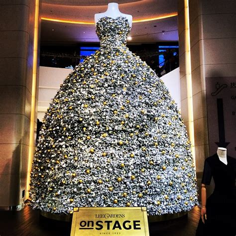 what to use instead of a christmas tree instead of a tree hysan place has a dress hong kong thru my