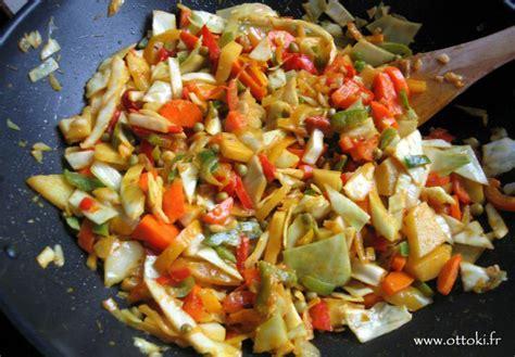 comment faire un pate chinois ottoki wok cuisine indienne v 233 g 233 tarienne l 233 gumes m 233 lang 233 s