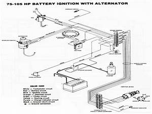 Alternator Charge Wire Boat Wiring Diagram