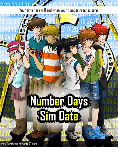 number days promo poster  pacthesis  deviantart