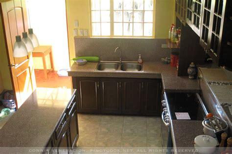kitchen design philippines welcome to my kitchen casa veneracion 1303