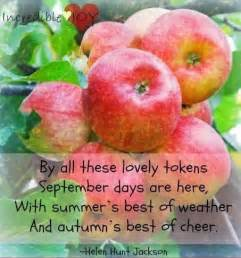 September Quotes Autumn Fall