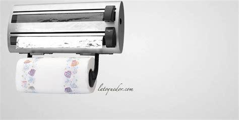 papier absorbant cuisine dérouleur de cuisine inox alimentaire et papier