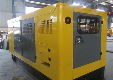 Open Type Diesel Power Generator 25kw To 200kw
