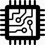 Chip Icon Computer Microchip Processor Cpu Circuit
