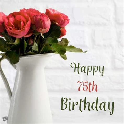 Forever Happy 75th by 70th Birthday Wishes Messages For 70 Year Olds