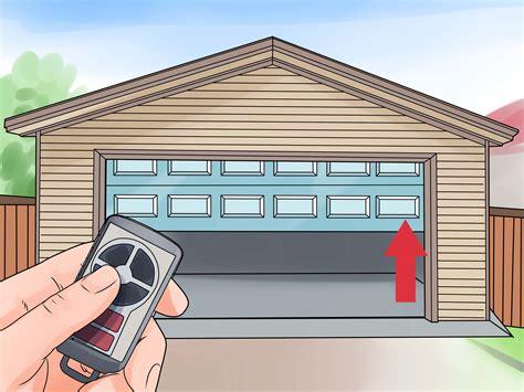Open The Garage Door by How To Install A Garage Door Opener With Pictures Wikihow