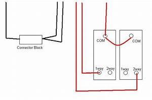 Way 2 Gang Wiring Diagram