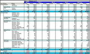 budget to actual template - budget planning