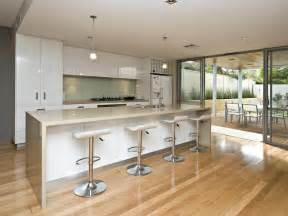 kitchen designs with island modern island kitchen design using floorboards kitchen photo 433840
