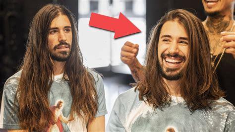 mens long hair haircut hairstyle   maintain long