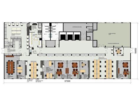 architecte de bureau amso plan d 39 aménagement de bureau