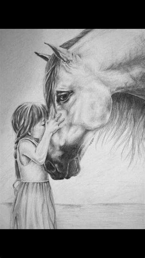 drawing pferde zeichnen tiere malen pferde skizze